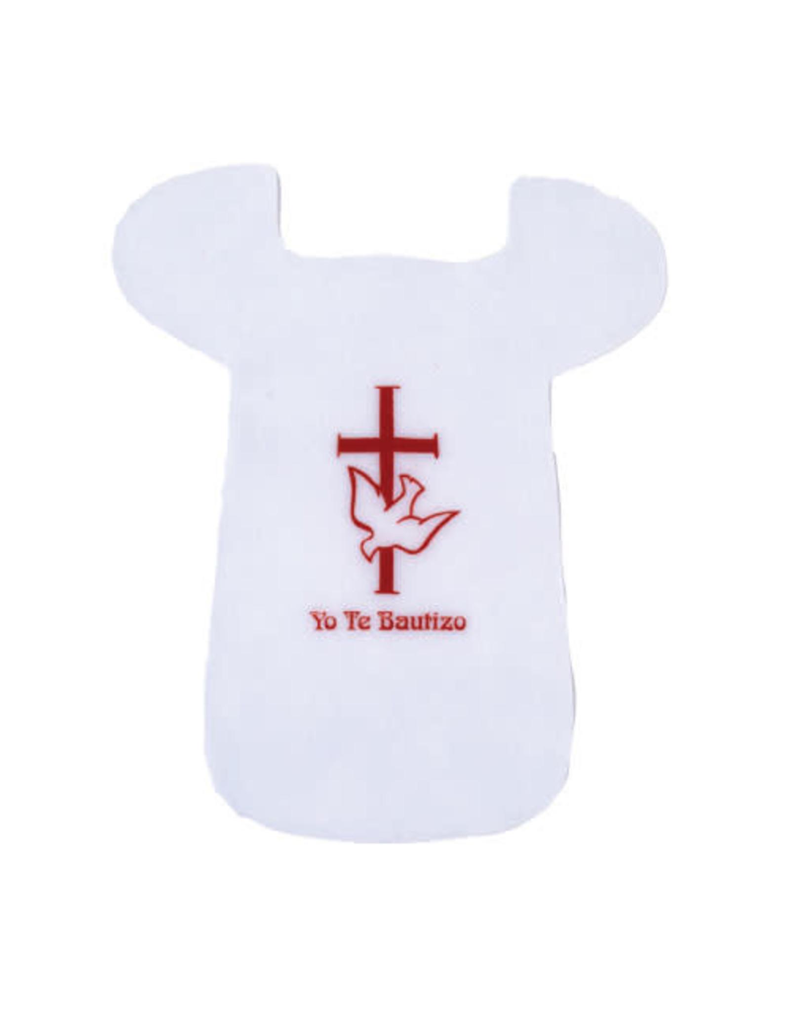 Baptism Bib Felt Spanish