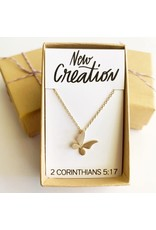 Bible Verse Necklace - New Creation