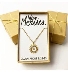 Bible Verse Necklace - New Mercies
