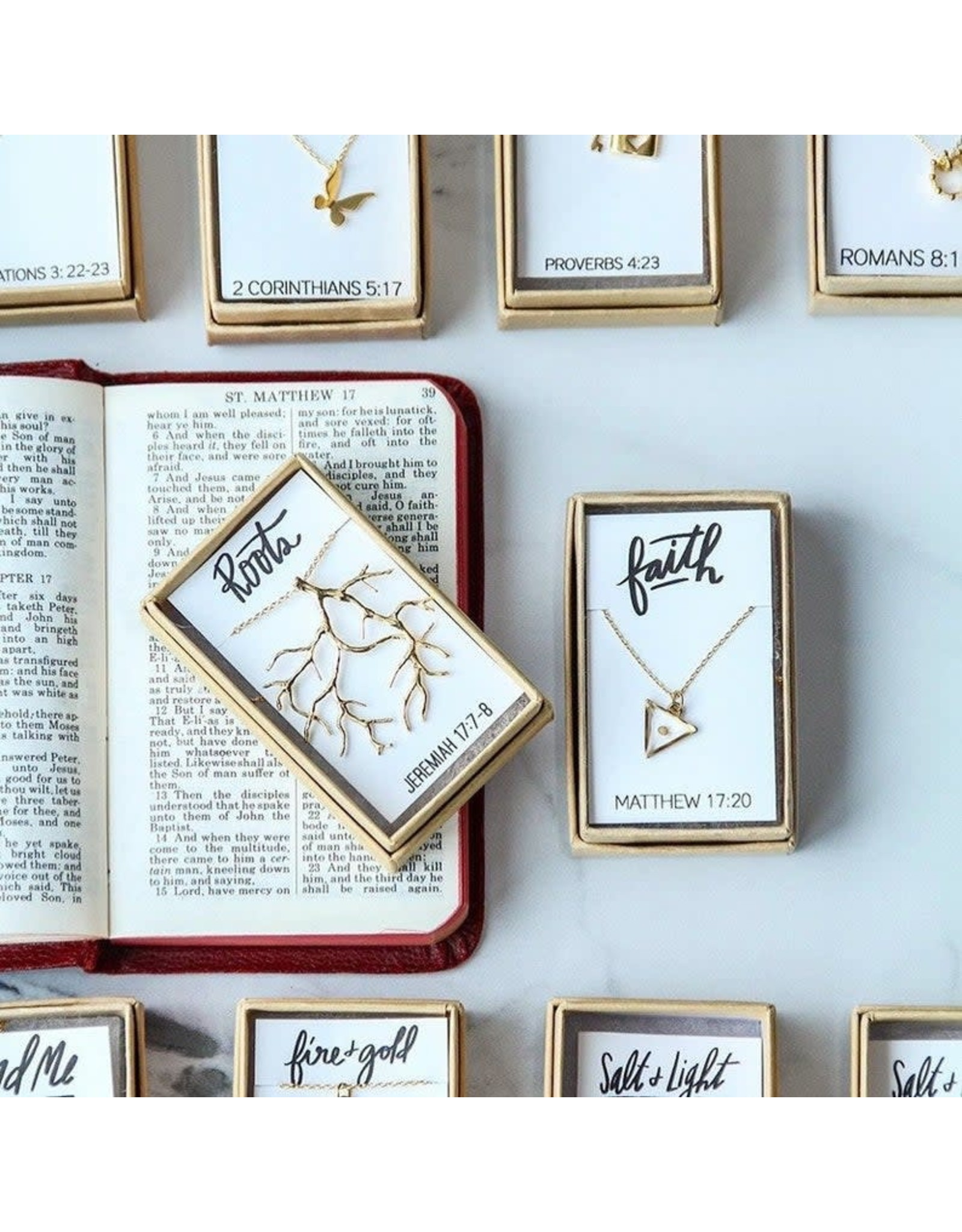 Bible Verse Necklace - Roots