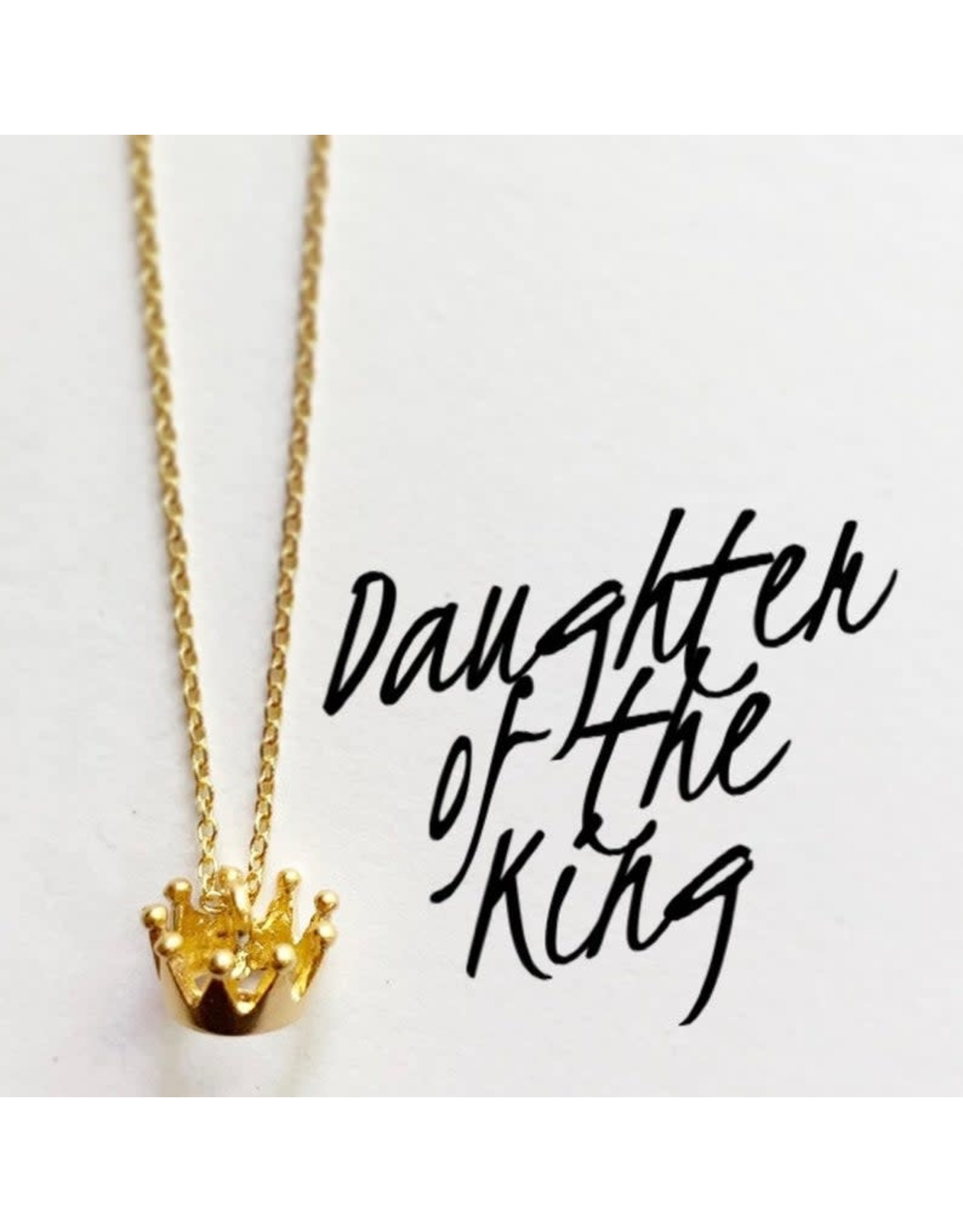 Bible Verse Necklace - Daughter of the King