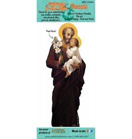 "St. Joseph 6"" Sticker/Decal"