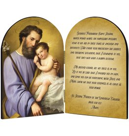Arched St. Joseph Diptych