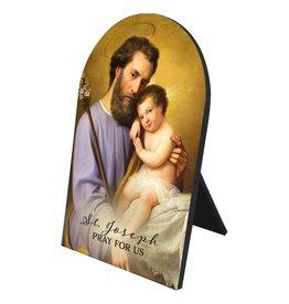 St. Joseph Arched Plaque