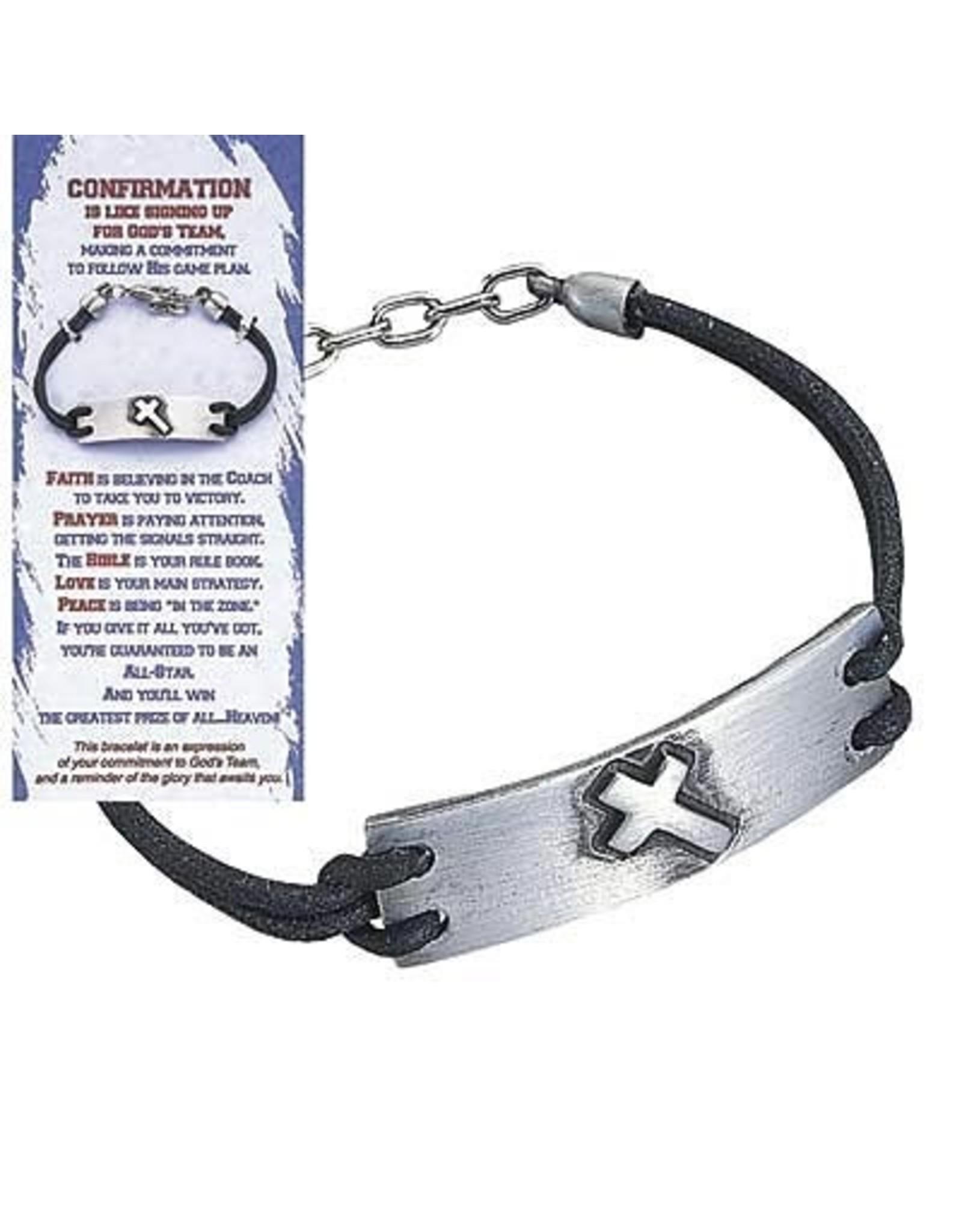 Confirmation Bracelet - God's Team (with card)