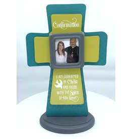 Confirmation Cross - with Picture Frame