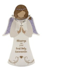 First Communion Angel with Bracelet