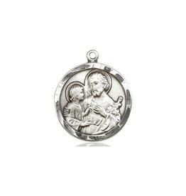 St. Joseph Medal Sterling Silver