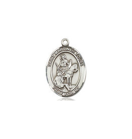 St. Martin of Tours Medal Sterling Silver