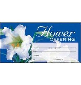 Easter Flower Offering Envelopes (100)