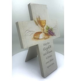 First Communion Cross - Light and Love