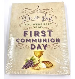 First Communion Thank You Cards (Pack of 12)