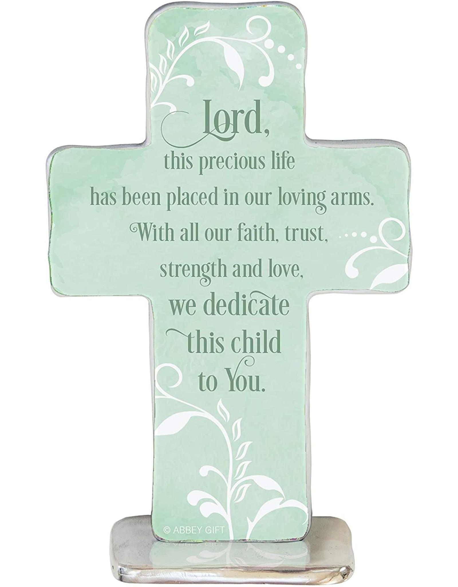 Baptism Cross - Dedicate this Child