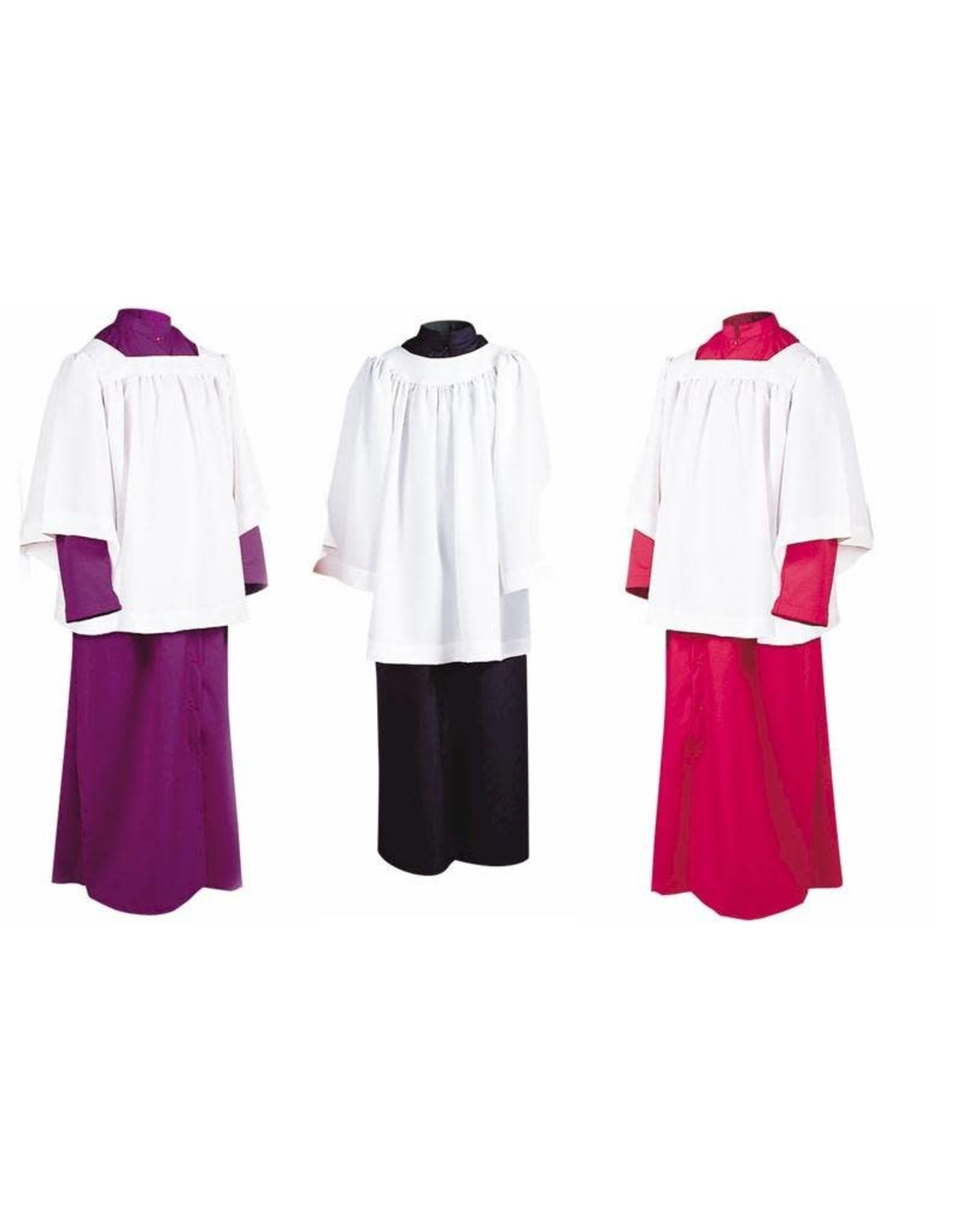 Altar Server Cassock-Available in Red, Black, Purple or White
