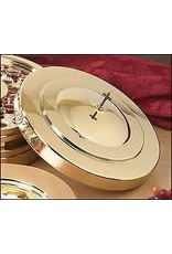 Communion Tray Cover-Brass Finish