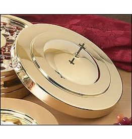 Communion Tray Cover-Brass Finish