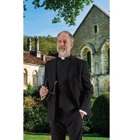 Clergy Vest Black 17/17.5