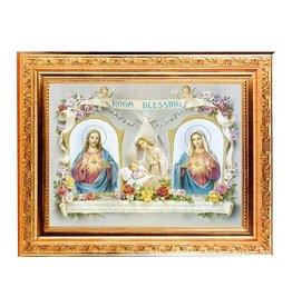 Baby Room Blessing Picture in Spanish 8X10