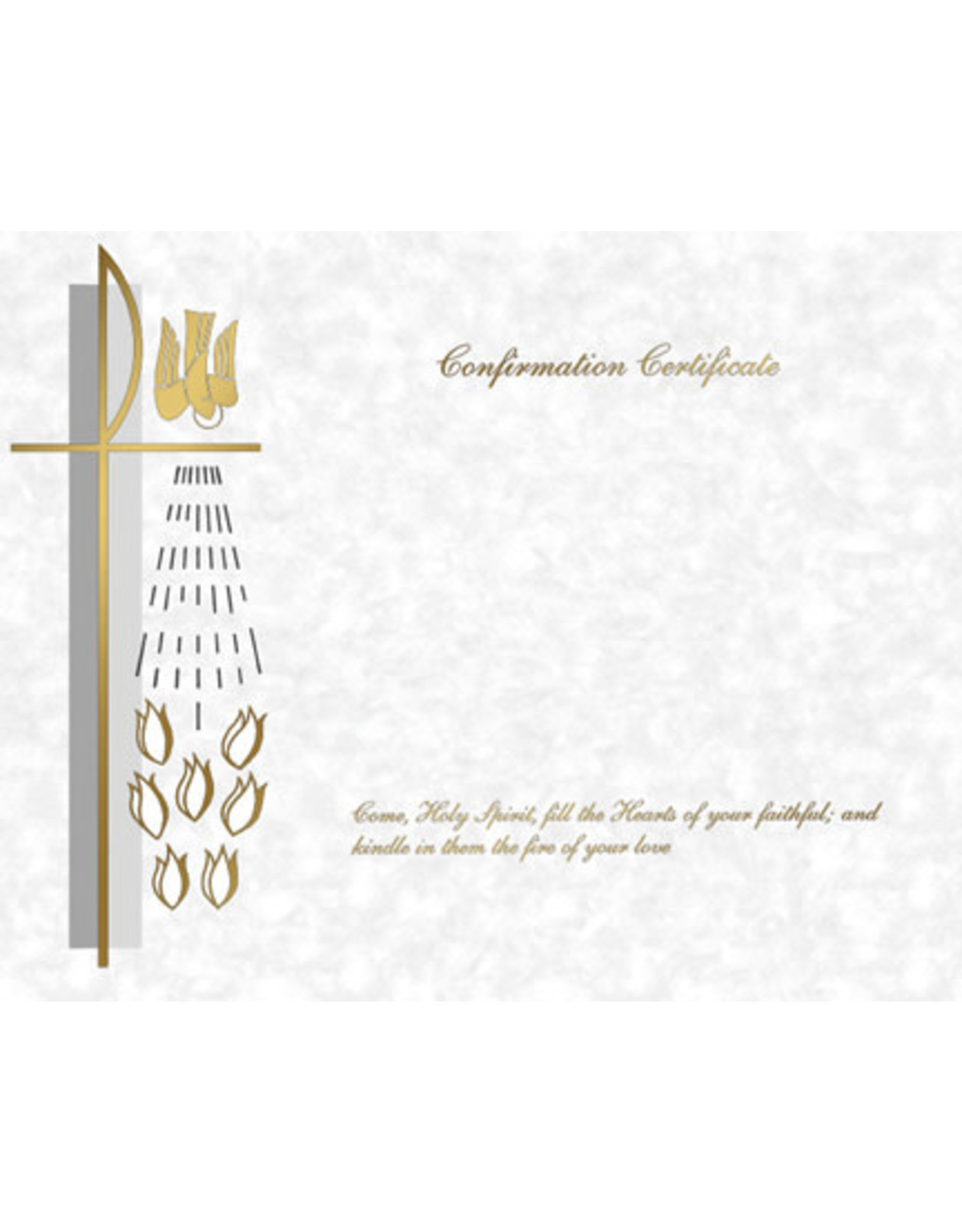 Confirmation Certificate Create-Your-Own (50)