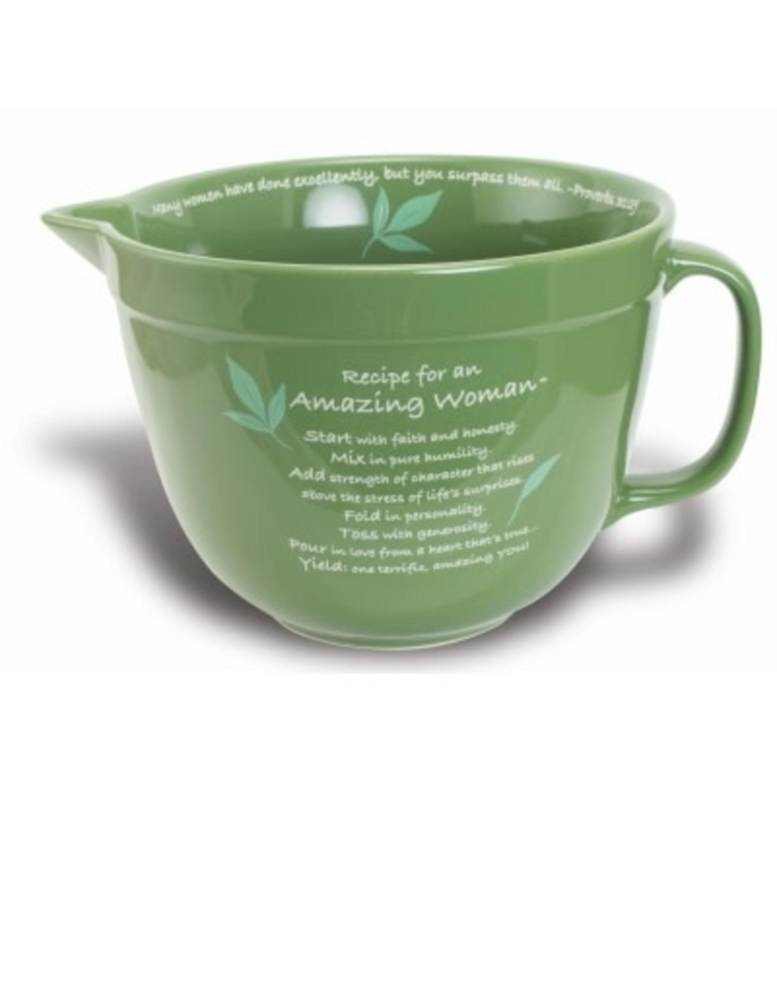 Mixing Bowl - Amazing Woman (Green)