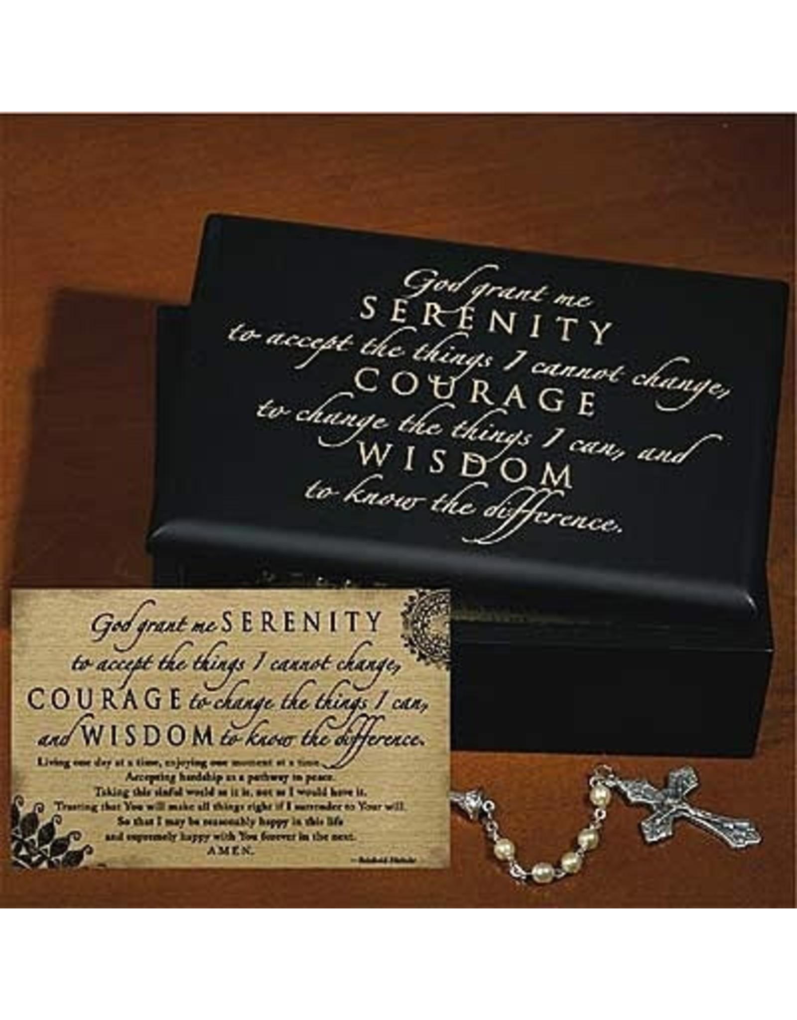 Serenity Prayer Keepsake Box