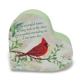 Memorial Heart Block with Cardinal