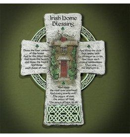 """Cross - Irish Home Blessing (6x8"""")"""