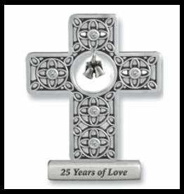 Cross - Silver, 25th Anniversary