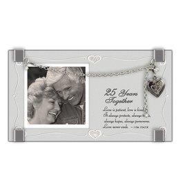 Frame - 25 Year Anniversary, with Locket & Bracelet (3x6)