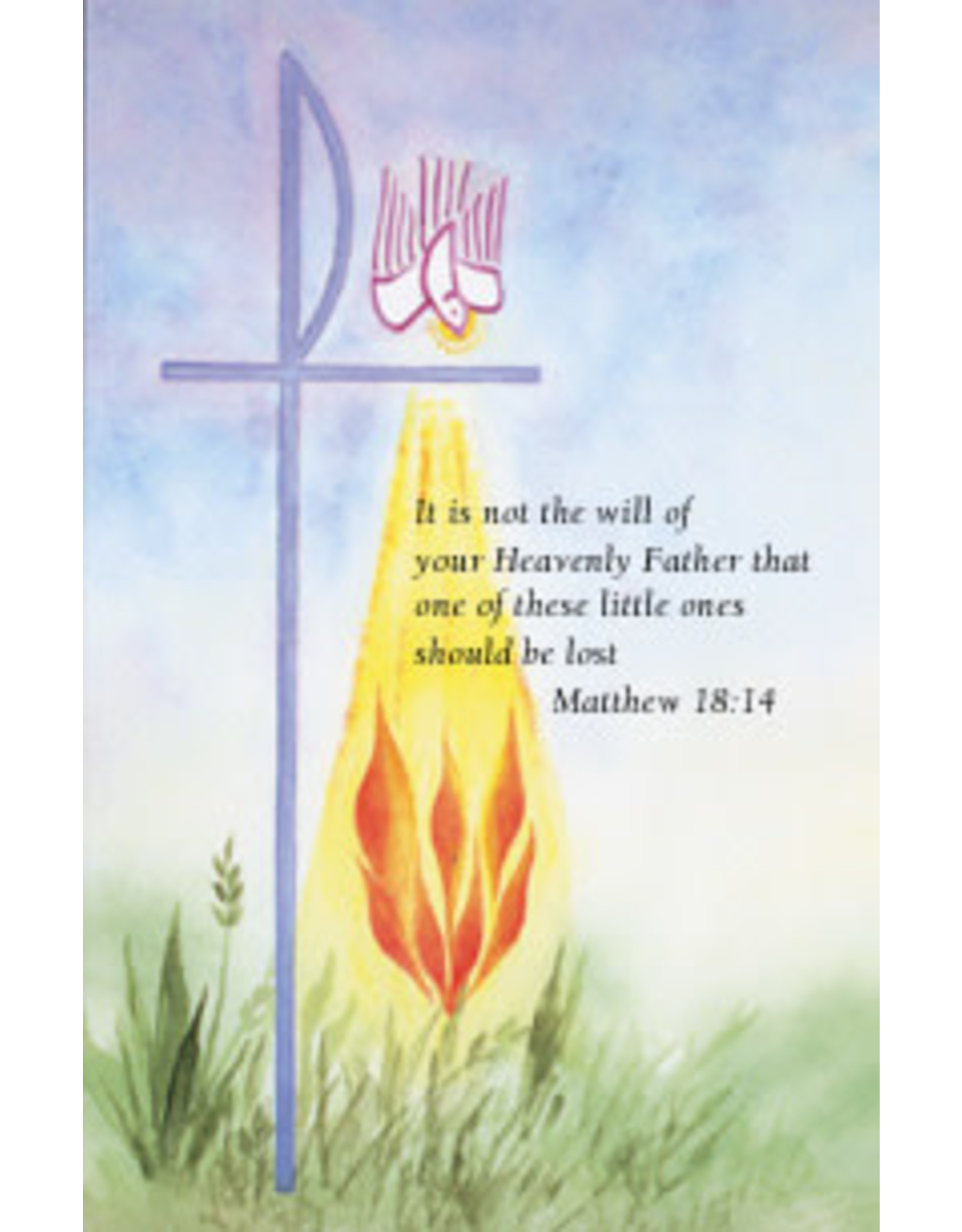 Confirmation Holy Card (Watercolor)
