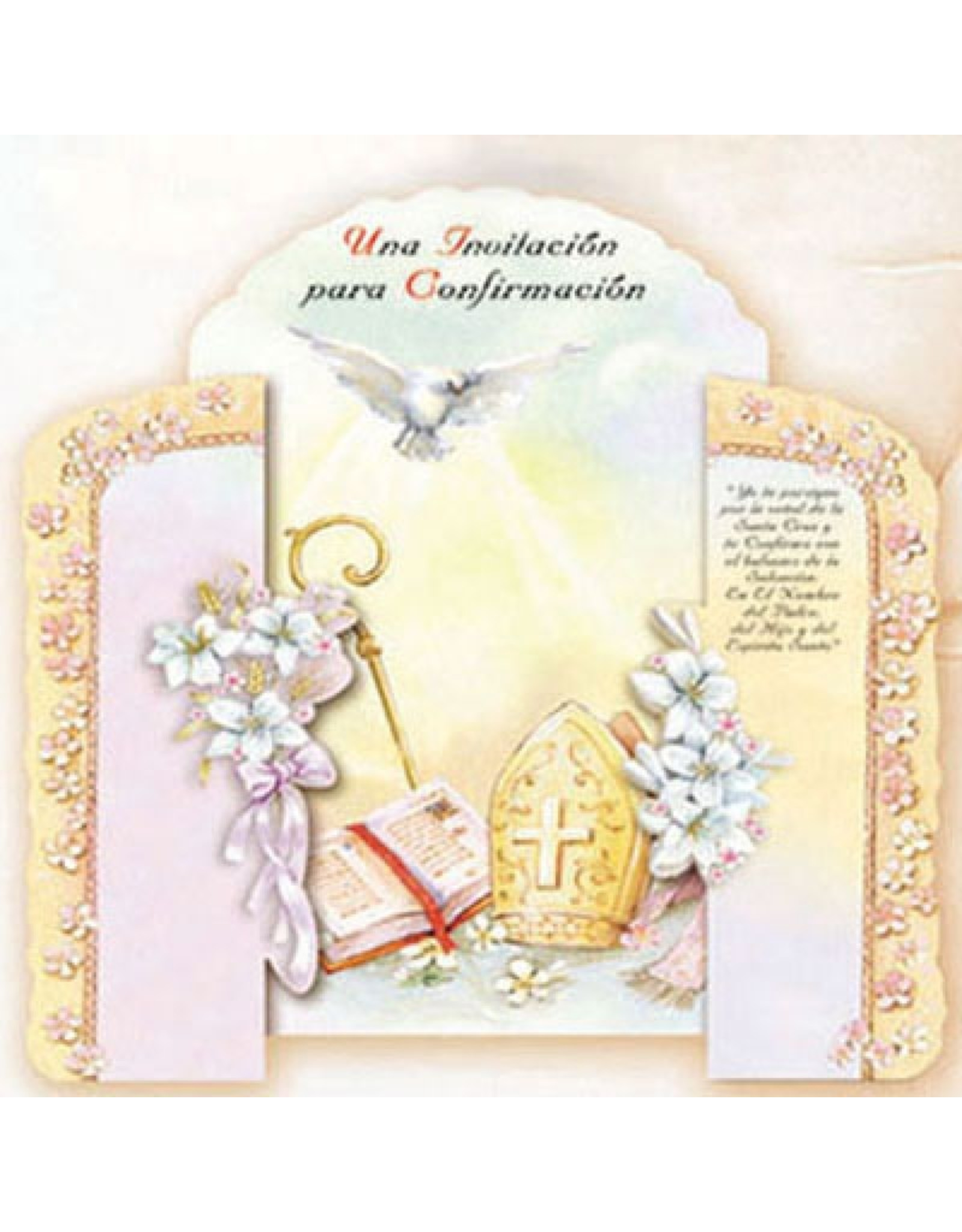 Confirmation Invitation (Spanish)