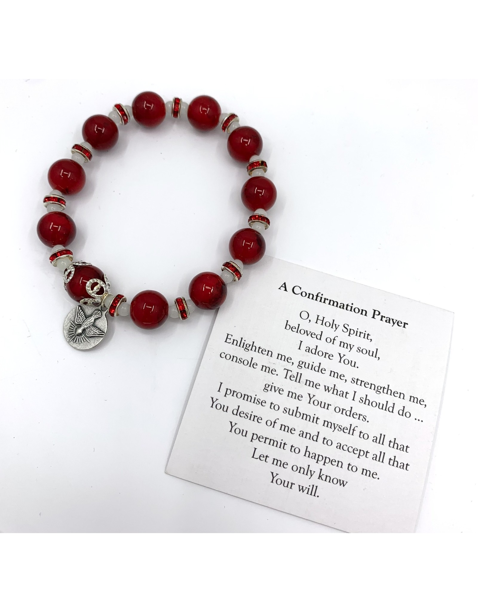 Confirmation Bracelet - with Holy Spirit Charm
