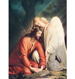 Jesus with the Angel Mass Cards for the Deceased (100)