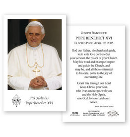 Pope Benedict XVI Holy Card (100)