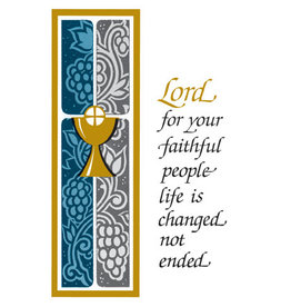 Cup of Salvation Mass Cards for the Deceased