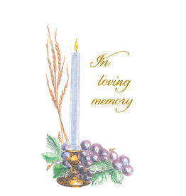 In Loving Memory Mass Cards for the Deceased Donation Cards (100)