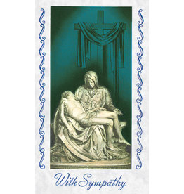 Pieta Mass Cards for the Deceased (100)
