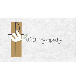 With Sympathy Mass Cards for the Deceased (100)