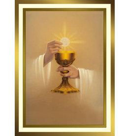Golden Host Mass Cards for the Living (100)