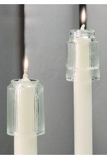 Glass Candle Follower 1-1/32 to 1-1/16