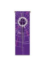 Purple Lent Banner