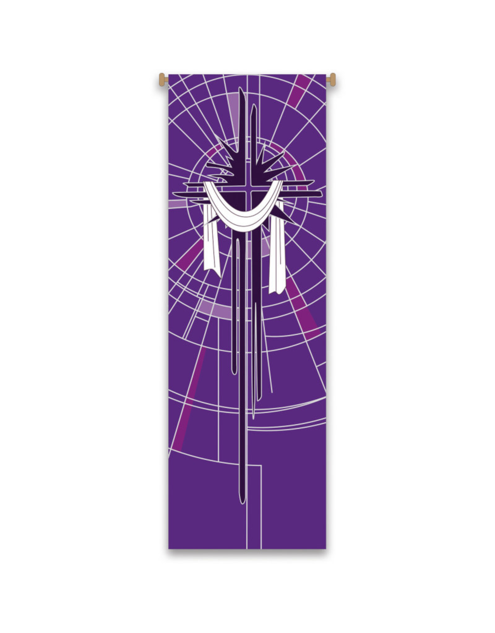 Purple Lent Banner
