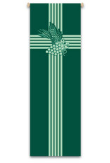 Green Grapes/Wheat Banner