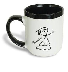 Bride - Two Hearts - Mug