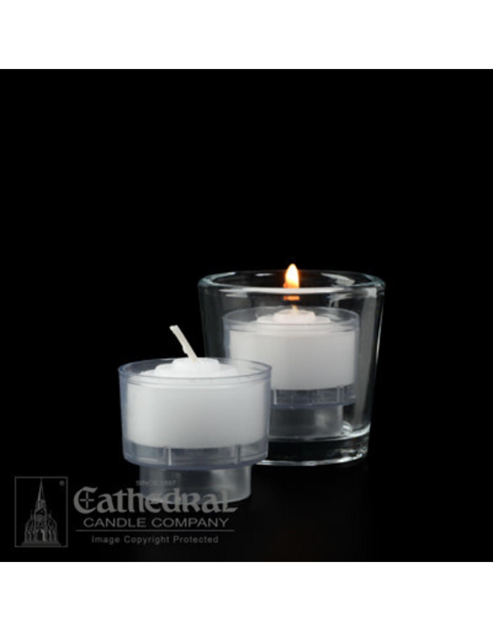 4-Hour Crystal Votive ez-Lite Candles (1 Gross)