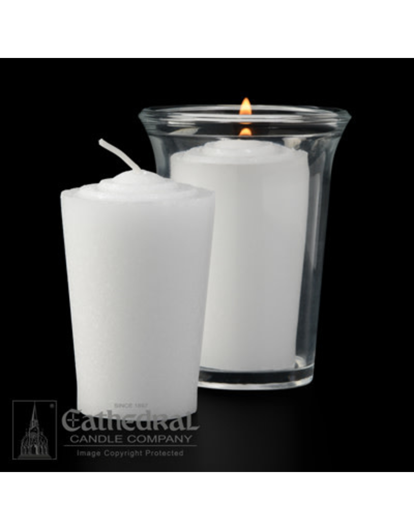 24-Hour Tapered Votive Candles (1 Gross)