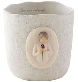 "Willow Tree Candleholder ""Loving Angel"""