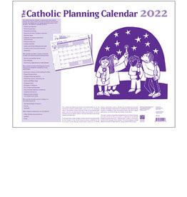 2022 Catholic Planning Calendar 22x17