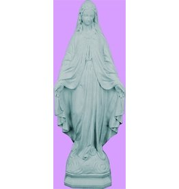 """Statue Our Lady of Grace 24"""" Granite-Look"""