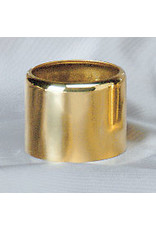 """Brass Follower for 1-3/4"""" Oil Candle Shell"""